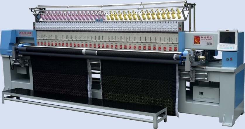 Computerized 25 Heads Quilting Embroidery Machine for Garments