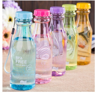 Heat Resistant Plastic Automotive Bottle, Wholesale Portable Plastic Bottle
