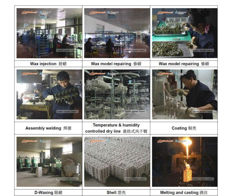 OEM 304 Steel Casting 316 Stainless Steel Precision Casting