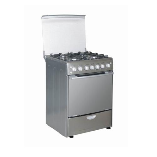 4 Burner Free Standing Gas Cooker for Europe Market