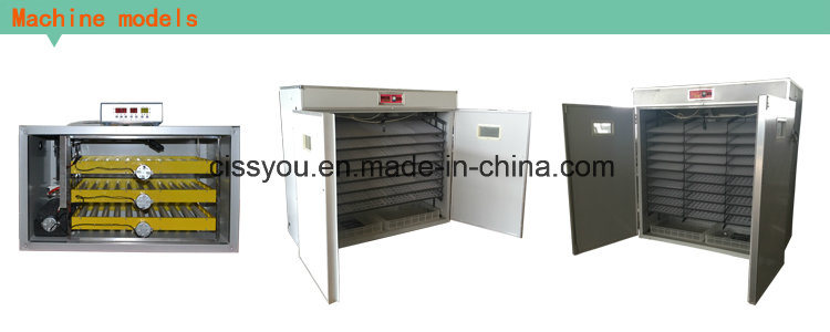 Automatic Chicken Poultry Duck Goose Egg Hatching Incubator