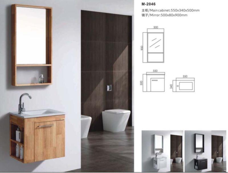 Deluxe Mirror Cabinet Bathroom Vanity Cabinet