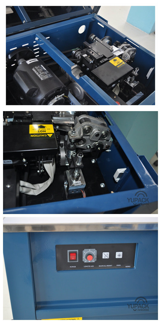 Yupack High Quality Semi-Auto Strapping Machine with PCB Control