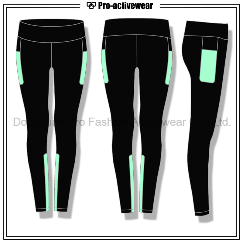 Moisture Wicking Custom Made Private Label Ladies Yoga Pants