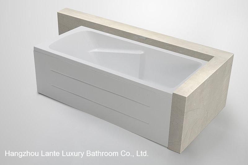 Simple Design Soaking Bathtub with Skirt (LT-19Q)