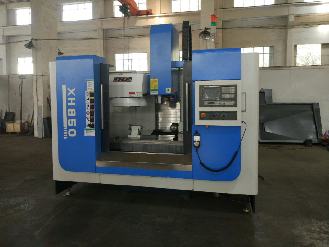 Vmc850 Metal CNC Working Computer Controlled Milling Machine