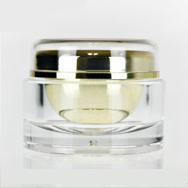 50g Round Frosted Acrylic Jar for Neck and Face Cream