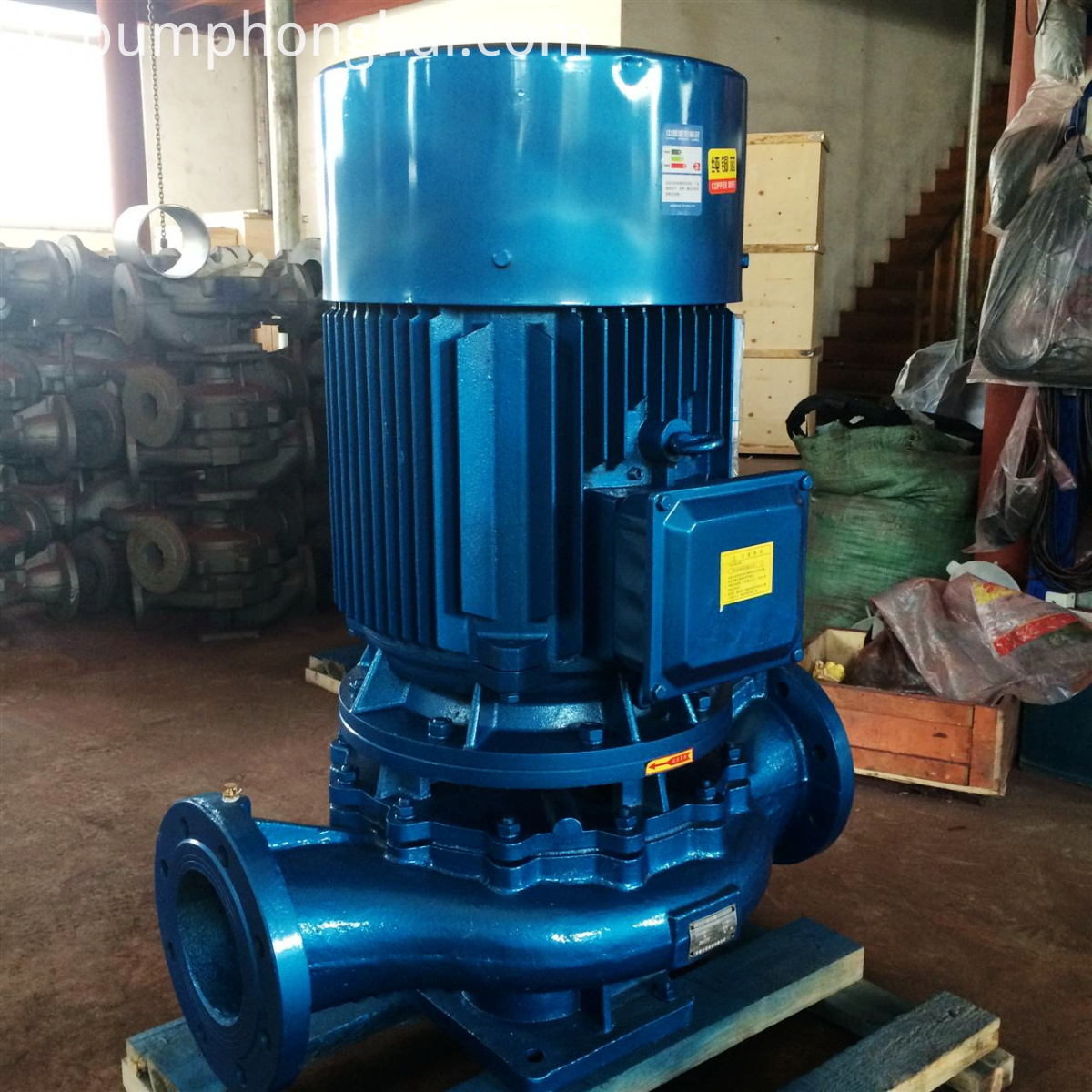 Vertical Pipeline Centrifugal Pump