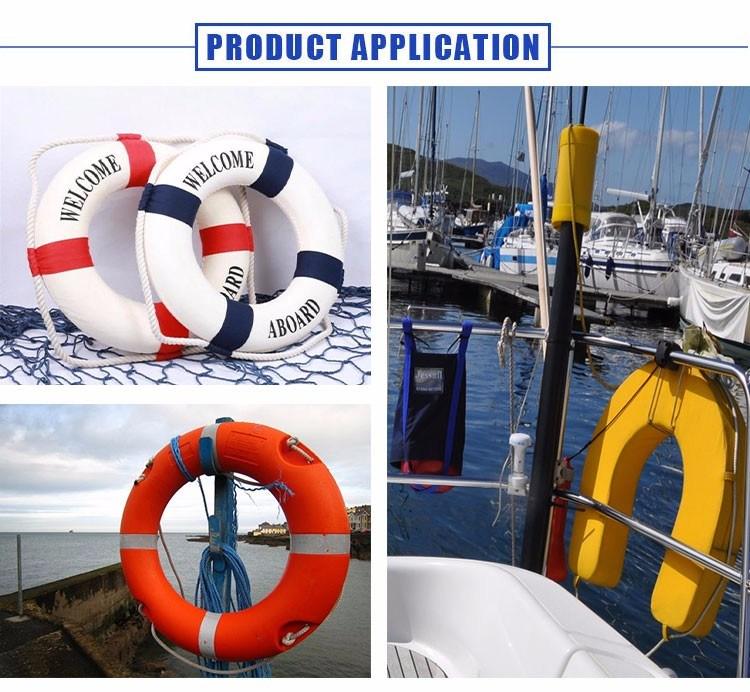 High Quality Yellow Ocean U-Type Life Buoy