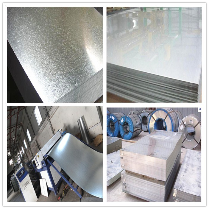Galvanized and Corrugated Steel Closed Type Floor Decking Sheet