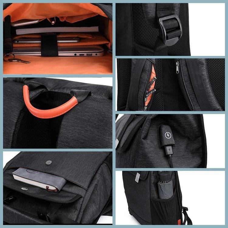 China Waterproof Camera Knapsack Travelling Laptop School Backpack Bag