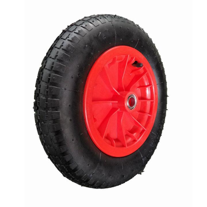 Plastic Rim 3.00-8 Pneumatic Wheel for Wheelbarrow