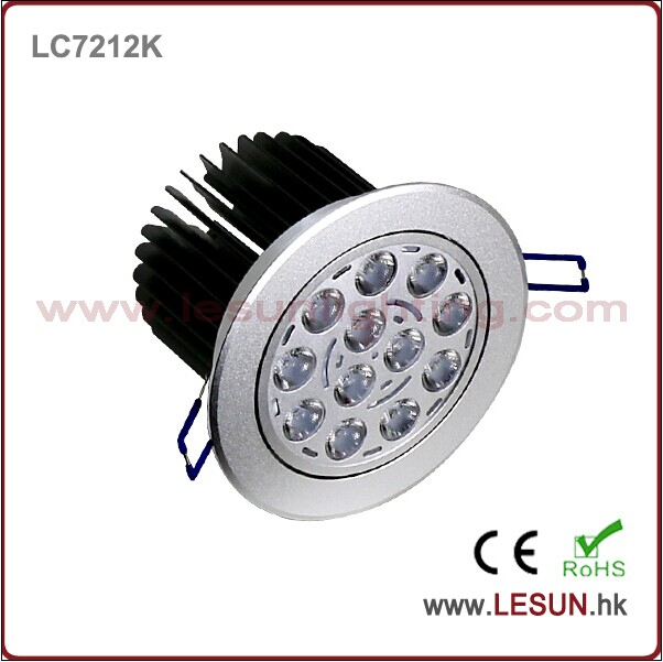 Recessed Instal 12X1w/12X3w LED Ceiling Downlights