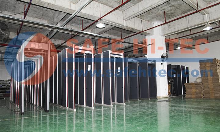 Multi 33 or 45 zones Body Scanner Door Frame detector metal Alarm System Security Arched Archway Walk Through Metal Detector