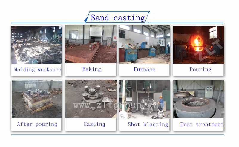 Stainless Steel Sand Casting Vacuum Pump Body Parts