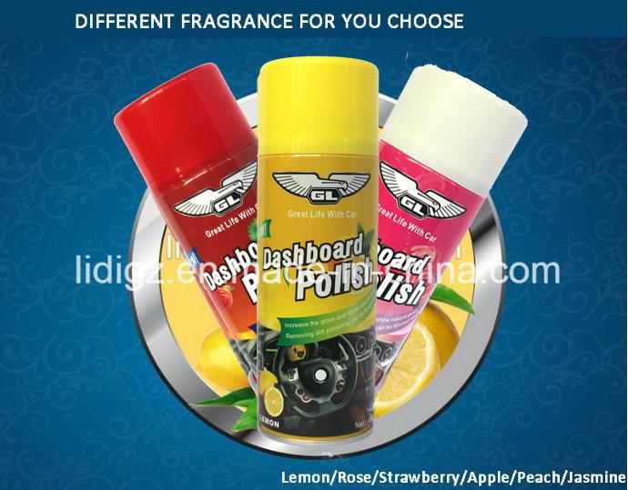 Different Smell Frangence Car Dashboard Polish