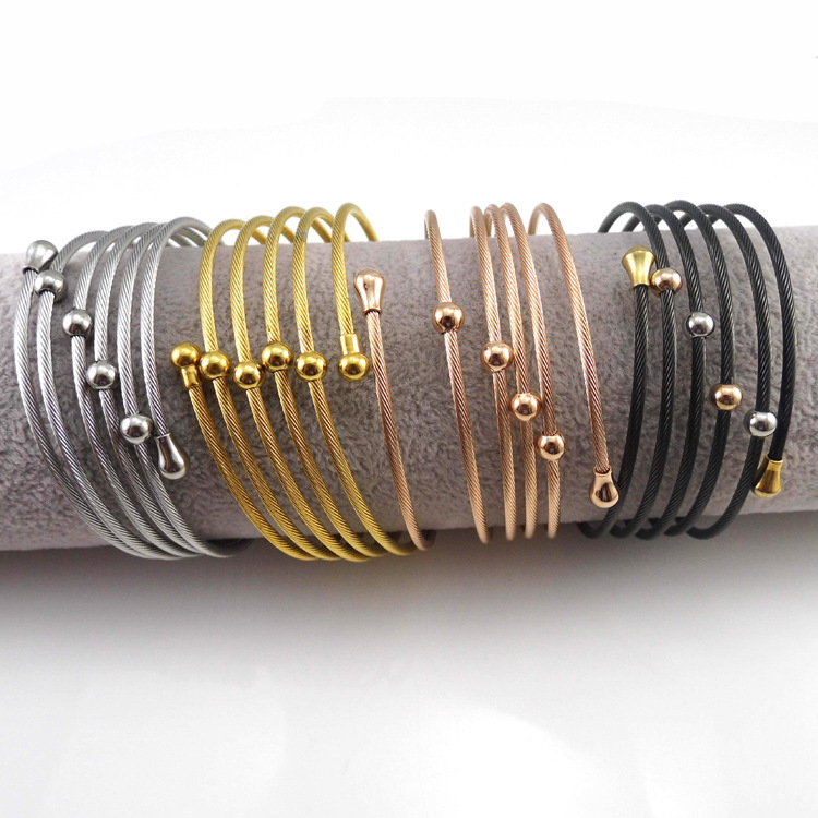 Fashion Jewellery Stainless Steel Jewelry Bangle (BR271)