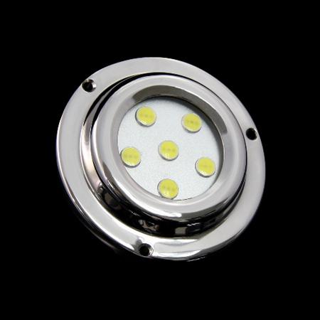 6X1w 12V RGB LED Surface Marine Light