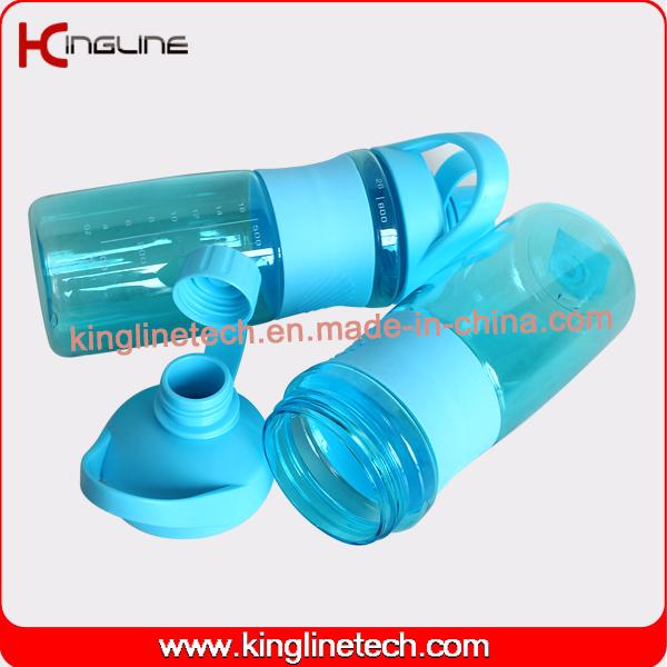 Cutom color 800ml New design protein shaker bottle logo printing ODM (KL-7061)