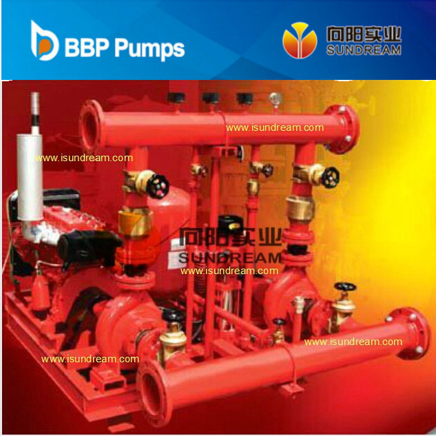 Diesel Engine Driven and Electric Motor Driven Centrifugal Fire Fighting Pump