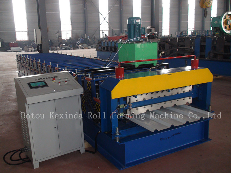 Metal Sheet Rolling Corrugated Roof and Wall Panel Production Line Cold Roll Forming Machine Roof Roll Forming Machine