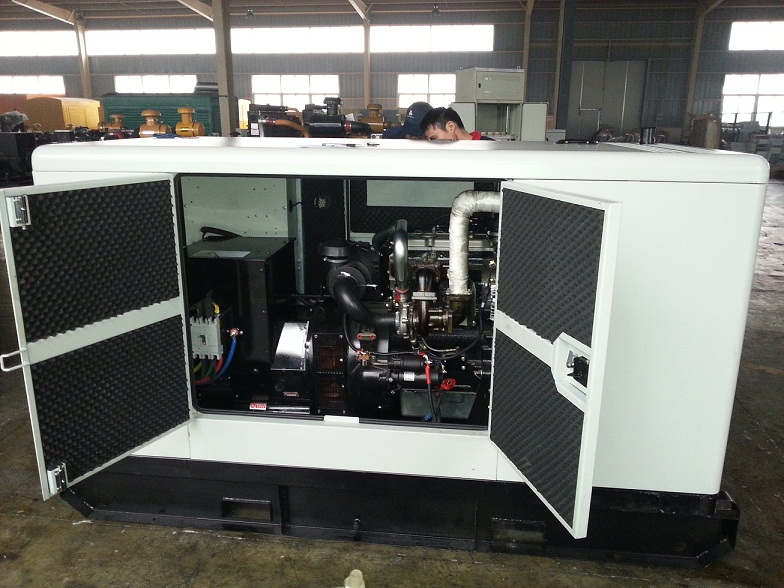 Super Silent Diesel Generator with Perkins Engine