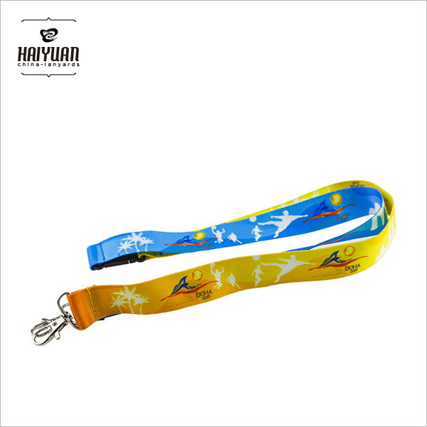 Custom Heat Tranfer Printing Lanyards with Any Design