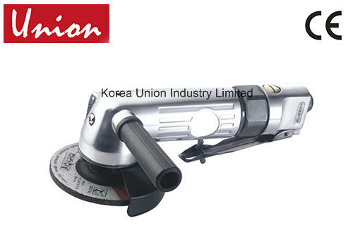Portable 5 Inch Air Angle Grinder Tool with Lever Type