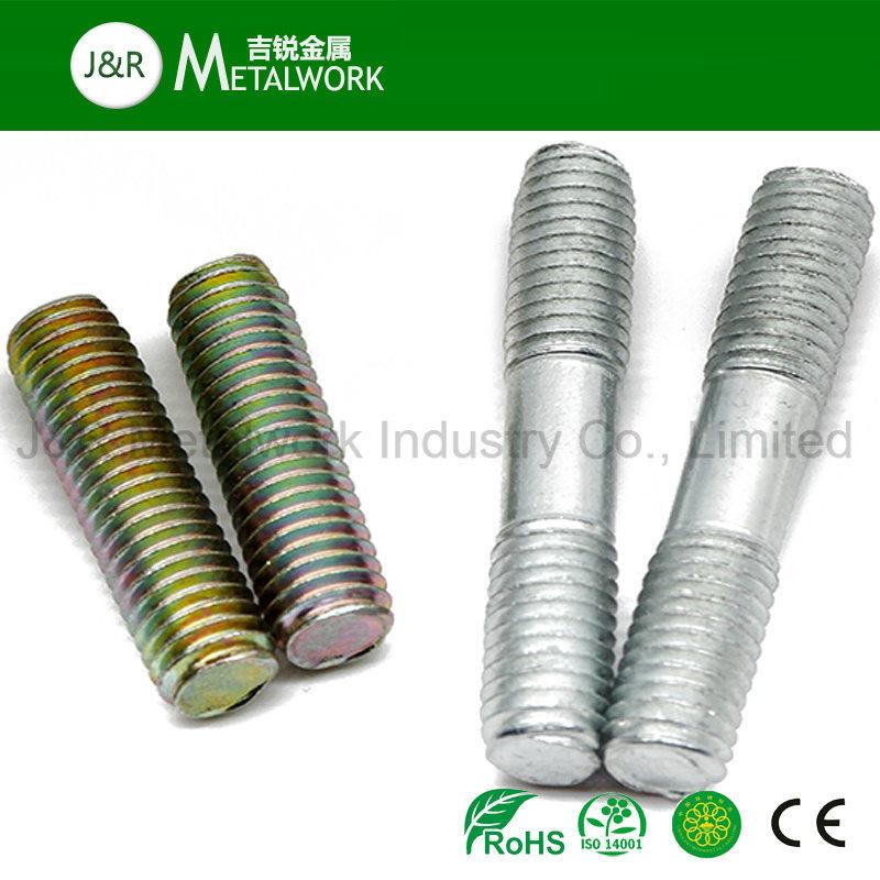 Carbon Steel Black Zinc Plated Double End Thread Stud Bolt