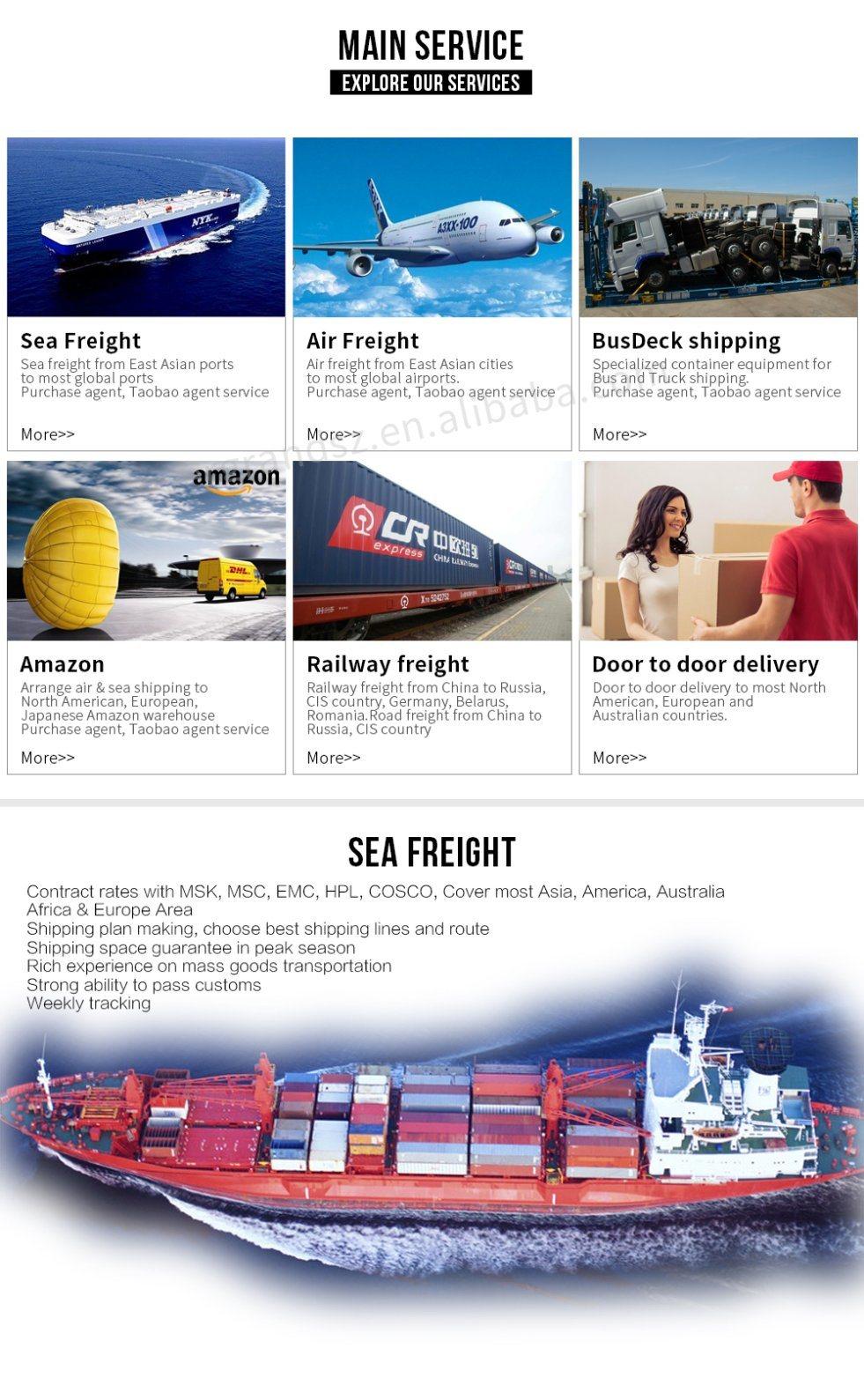 Ocean & Sea Shipping Freight From China to Miami/Jacksonville/Charleston/Norfolk/New York/Baltimore/Boston