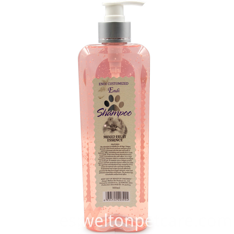 Pet Bath Foam natural organic cat shampoo