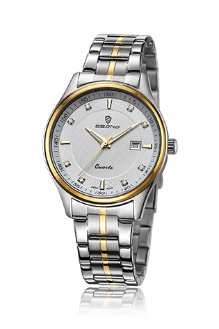 Cheap Jewellery Stainless Steel Couple Wrist Watch