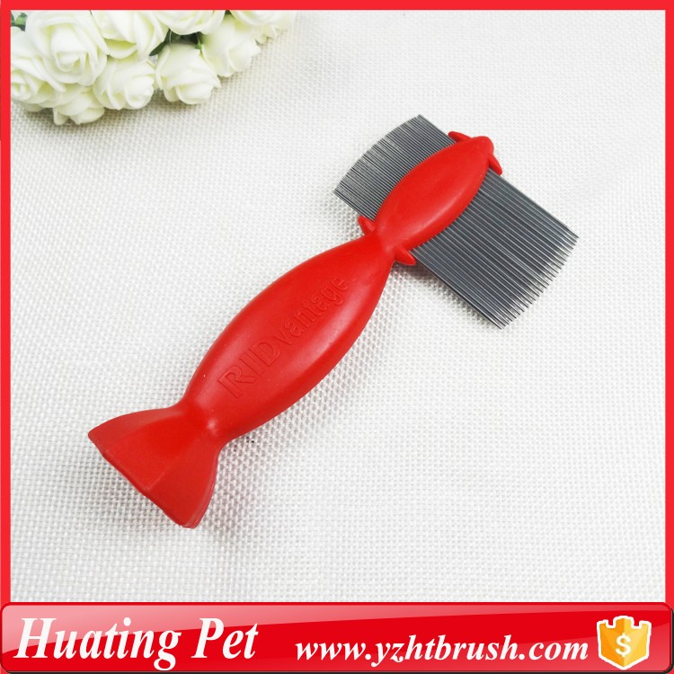 cleaning flea pup comb