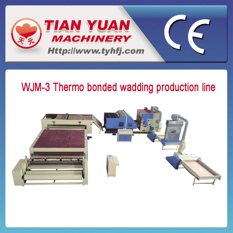 Nonwoven Thermo Bonding Wadding Productin Line (WJM-3)