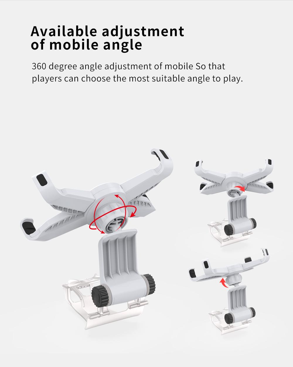 Mobile Phone Clamp Bracket Holder