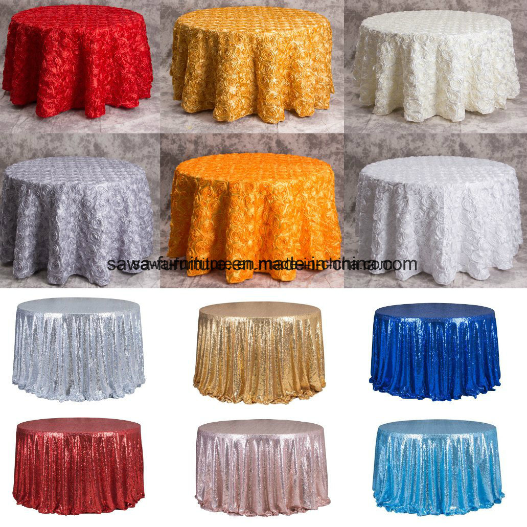 Spandex Lycra Wholesale Hotel Table Cloth