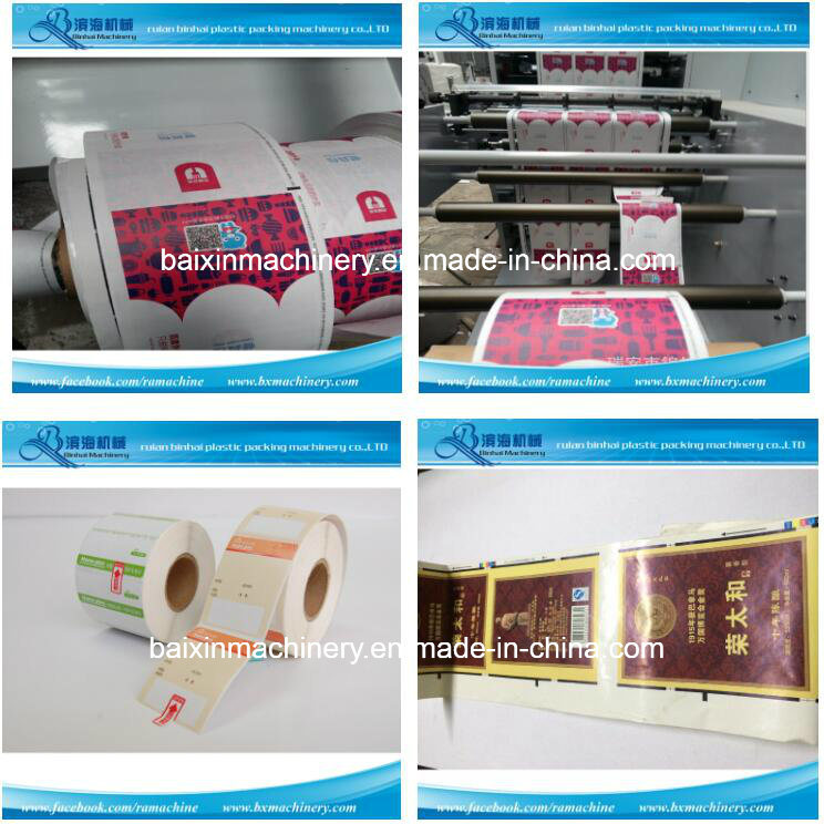 Automatic Label Sticket Printing Machine 6 Colors