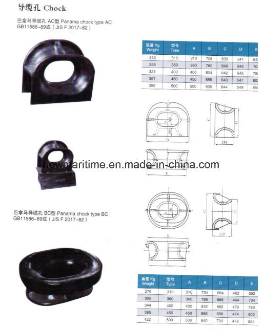 Wholesale Cheap Casted Steel Bearing Bulwark Mounted Panama Fairlead Chock