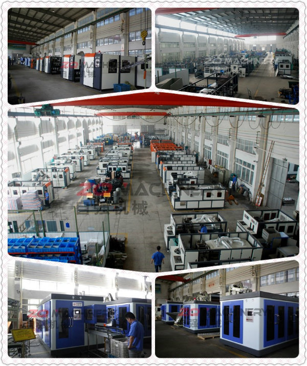 Fully Automatic Pet Stretch Blow Molding Machine - Economic Type (ZQ-M1500-3)