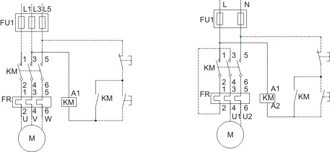 Ce and IEC Standard Dol Electrical Magnetic Starters