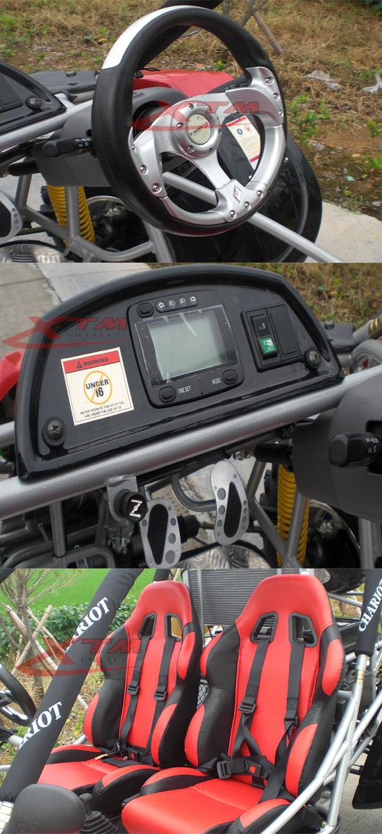 Good Luck Big Pedal 650cc Heavy Duty Adult Go Kart