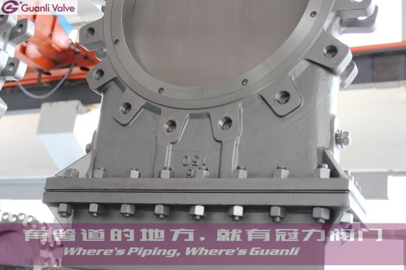 All Ss304 Bonnect Bolted Knife Gate Valve