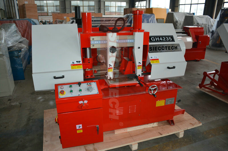Hydraulic Control Band Saw Machine Prices for Metal Tube Cutting