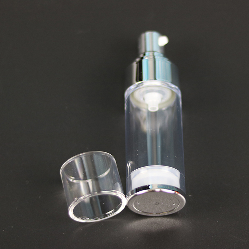 Shiny Shoulder Plastic Cosmetic Bottle (NAB37)