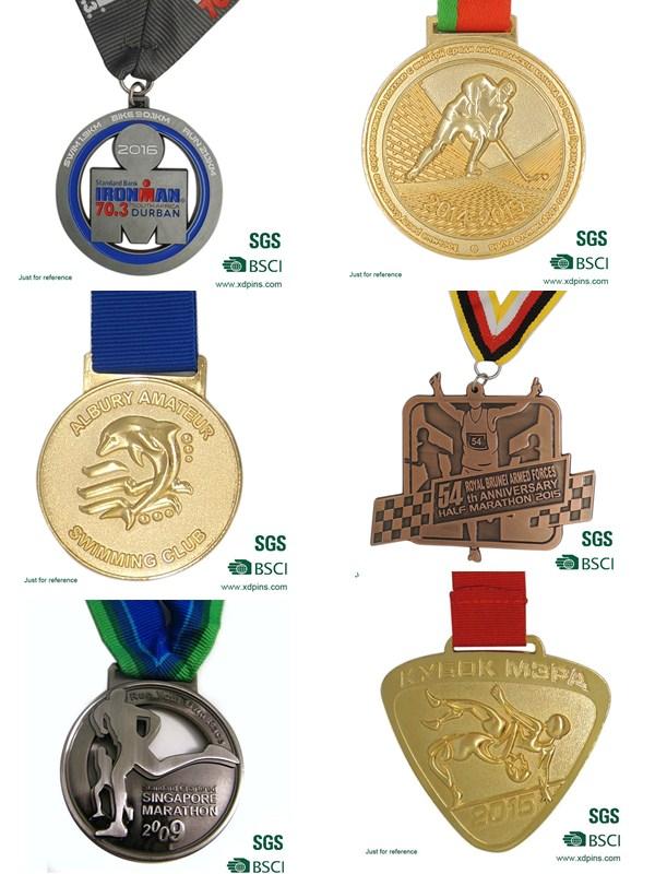 Embossed Solider Honor Emblem Medal for Souvenir