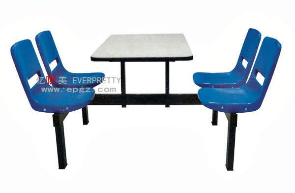 Cheap High Quality Modern Dining Table Set School Canteen Table and Chair