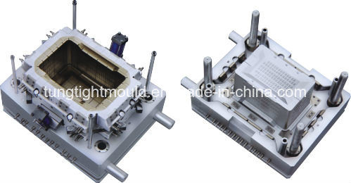 Household Plastic Pallet Box Injection Mould