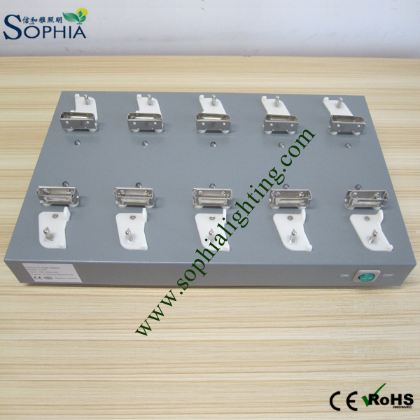 Multi Charger for LED Head Lamp, Cap Lamp Lithium Battery