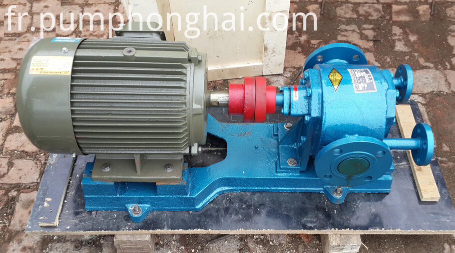 LQB cast steel material palm oil gear pump