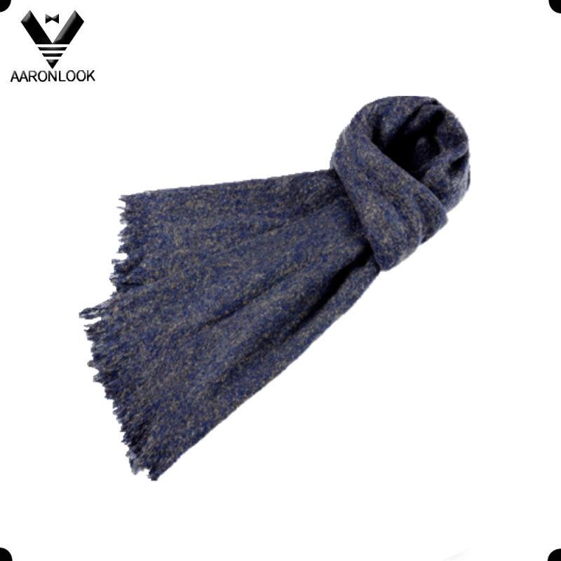Women Winter Warm Keeping Big Size Loop Yarn Retro Ethnic Style Scarf